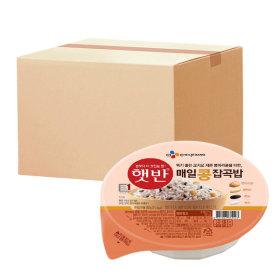 햇반 매일콩잡곡밥 210g 24개