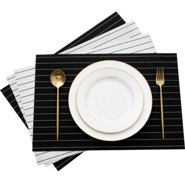 플레이팅 식탁매트/홈데코 식탁받침 테이블 깔개 매트 상품이미지