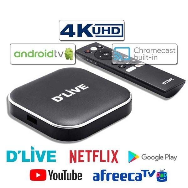 딜라이브 UHD H5 플러스 TV셋톱박스 유튜브 넷플릭스 상품이미지