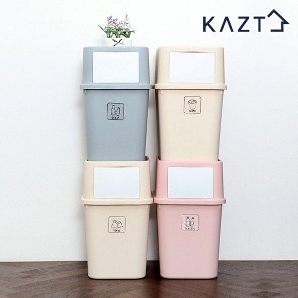 가쯔 마카롱 다용도 재활용 분리수거함 대형 4개 상품이미지