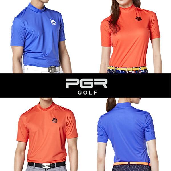 PGR 골프웨어 남자 여자 라운드반팔티셔츠 상품이미지
