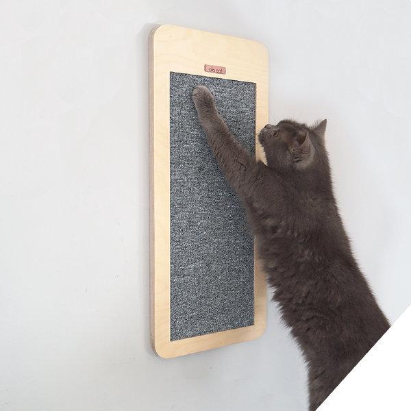 고양이 사각 스크래쳐 벽걸이 + 평판형 알로캣 캣타워 상품이미지