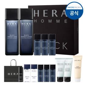 옴므 블랙 퍼펙트 2종+면도기(9월)(상품권제거)