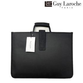 Guy Laroche 스웨이드 슬림 브리프 케이스  GL-SBK-003