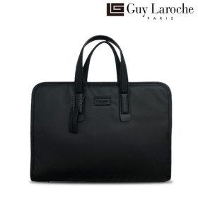 Guy Laroche 슬림 서류가방 초경량 스터드 GL-BK-0828