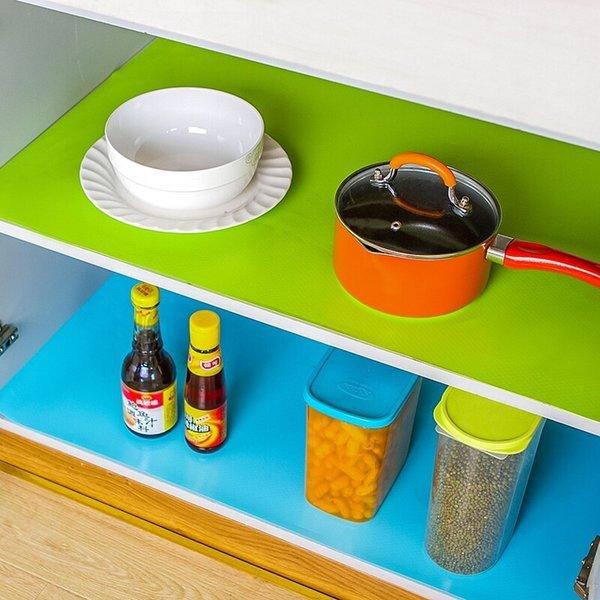 논슬립 서랍 위생 매트 주방 선반 깔개 시트 그린(대) 상품이미지