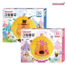 모나미 모니주 그림물감 6ml 24색