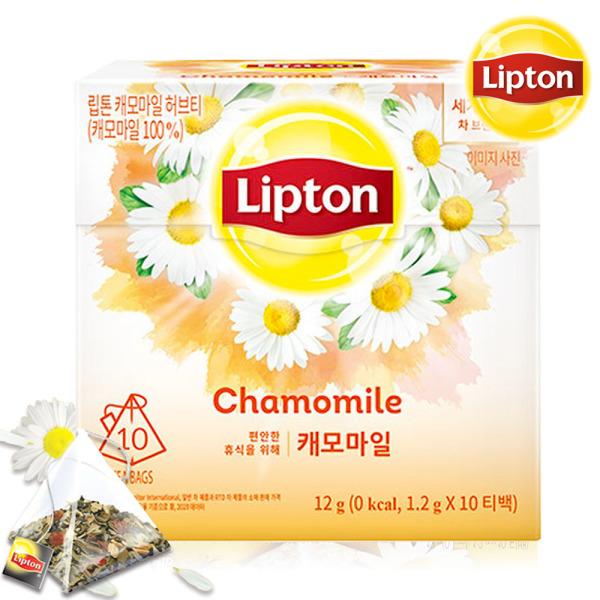 립톤 캐모마일티 10T /캐모마일차/허브티/카모마일 상품이미지