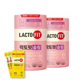 락토핏 생유산균 슬림 60포 2통(60일분)