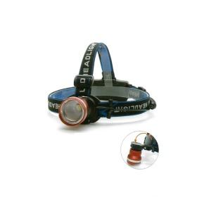 LED 충전식 헤드랜턴 안전모 사용 최적화 각도조절