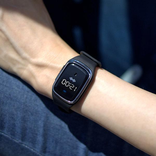 굿프렌드 손목밴드 초음파 모기퇴치기 시계형 블랙 상품이미지