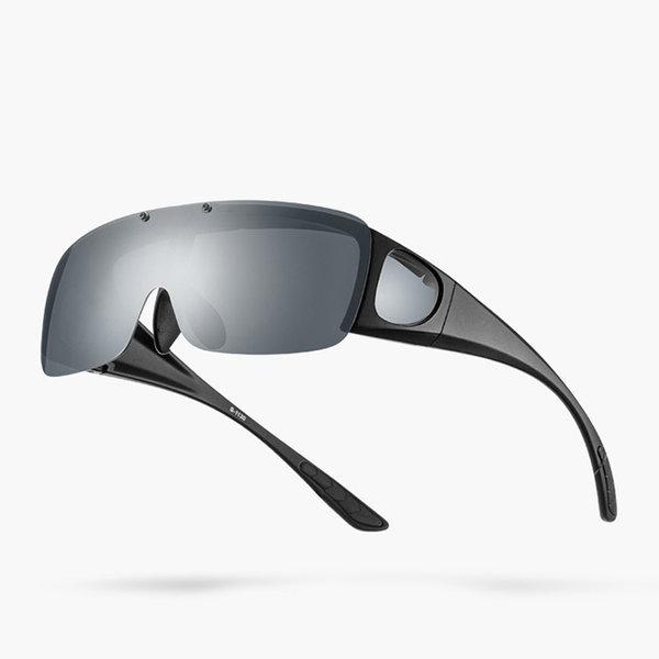 안경위에 쓰는 선글라스 근시 편광 방풍고글 자전거 상품이미지