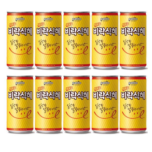 밥알없는 비락식혜175m(10캔)/식혜/음료수/팔도/음료 상품이미지