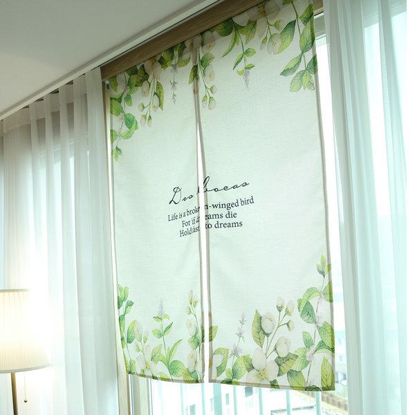 가리개커튼 바란스 거실 창문 커튼 플라워(소) 상품이미지