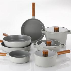 IH Full Induction Pot Frying Pan 7-item Pot Set