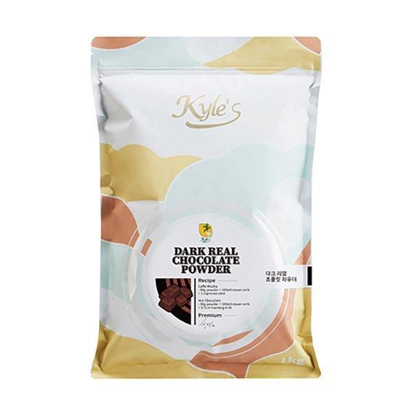 메가커피 카일스 다크 리얼 초콜릿 파우더 1kg 1박스 12개 초콜렛 초코 상품이미지