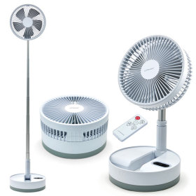 Foldable/Wireless/For Table/Handheld Electric Fan/1+1/R008