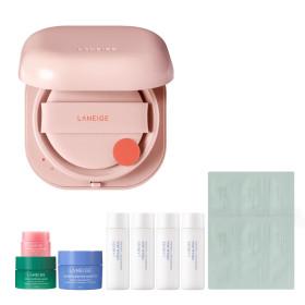 Neo Cushion Glow 15g Moist Glow Cushion Pact Dry Skin