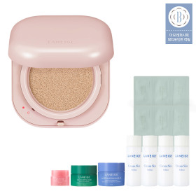 NEO CUSHION GLOW 15g Hydrating Glow Cushion Pact Dry Skin