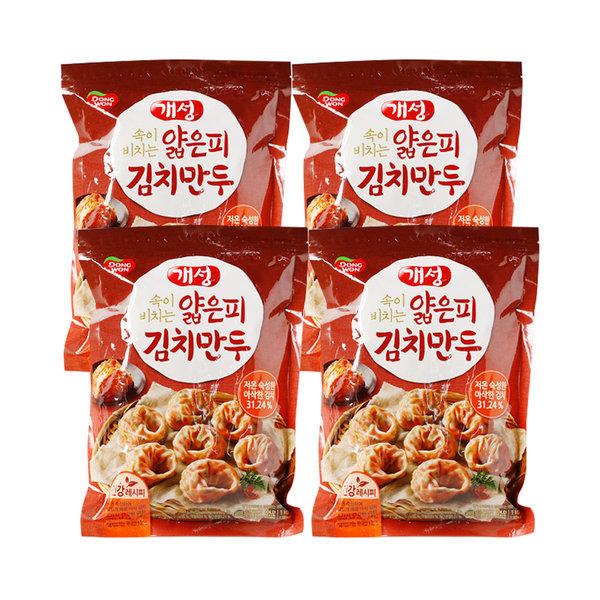 동원 개성 얇은피 김치 만두 1kg 4개 상품이미지