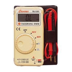 태광 TK-3203 디지털 멀티미터 소형 포켓 테스터기