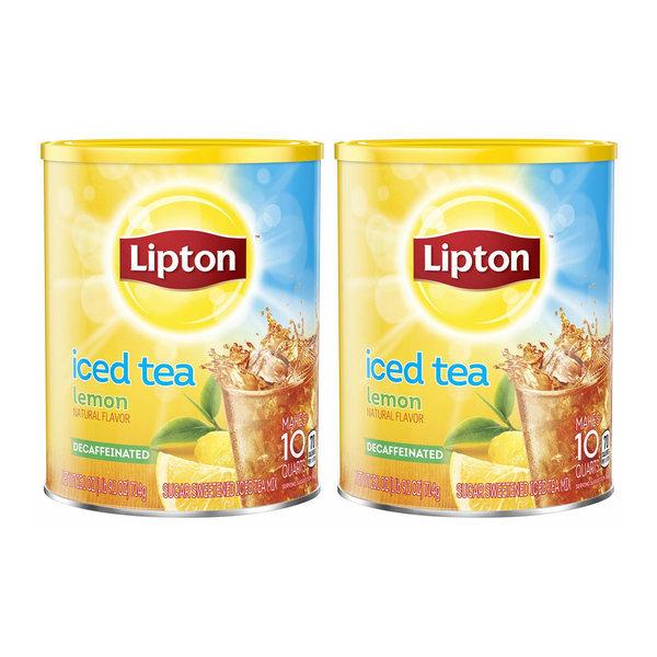립톤 디카페인 레몬 블랙 아이스티 믹스 714g 2팩 상품이미지