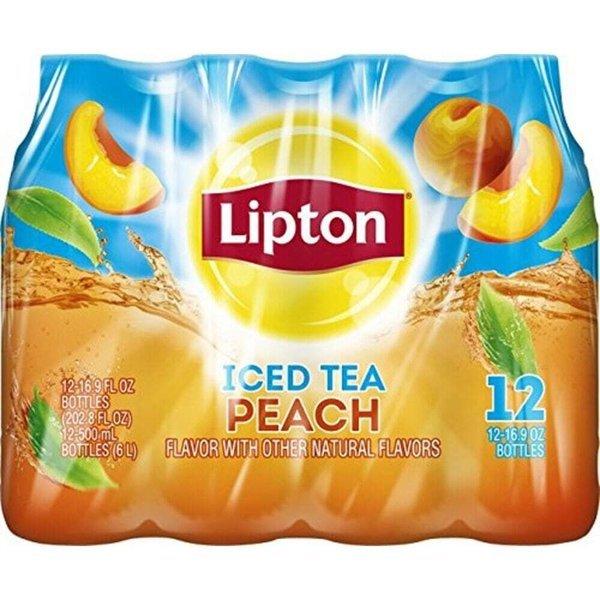 립톤 복숭아맛 아이스티 16.9floz(500ml) 12보틀 상품이미지
