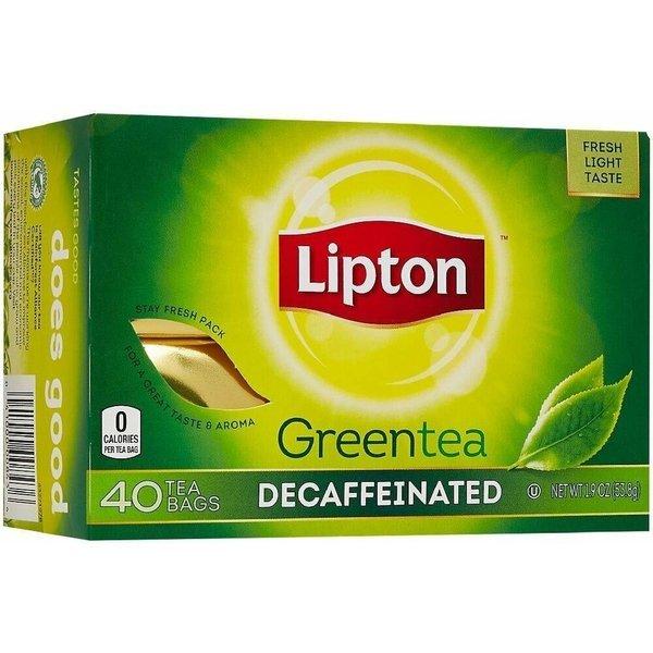 립톤 디카페인 그린티 녹차 티백 40입 1.9oz(53g) 상품이미지