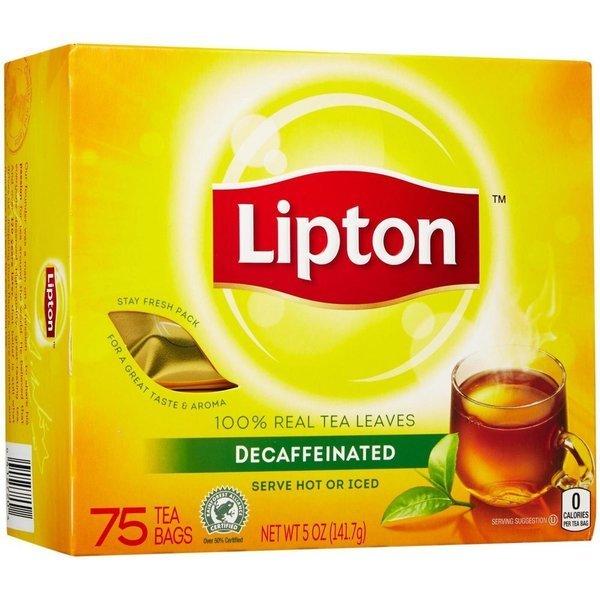 립톤 디카페인 블랙티 티백 72입 5oz(141g) 상품이미지