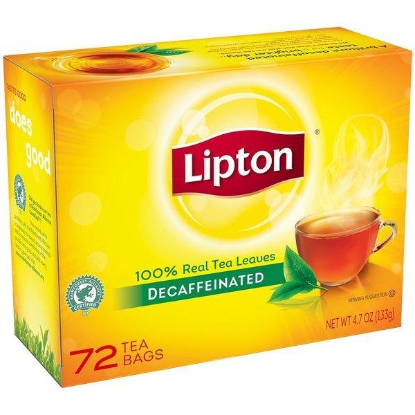 립톤 디카페인 핫 블랙티 72입 4.7oz(133g) 상품이미지