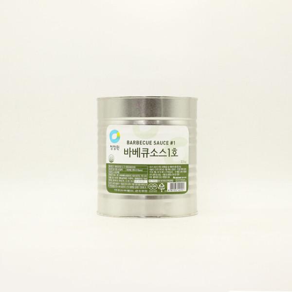 청정원 바베큐소스 1호 3.3kg 상품이미지