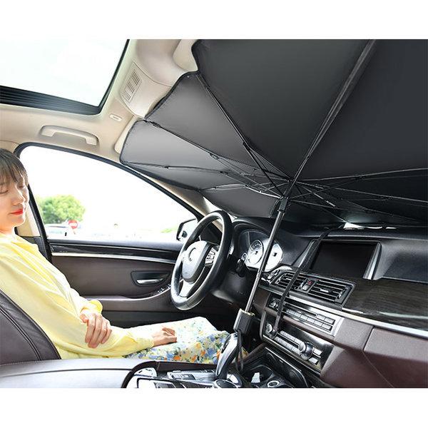중형 우산형 자동차 차량용 차량 앞유리 햇빛가리개 상품이미지