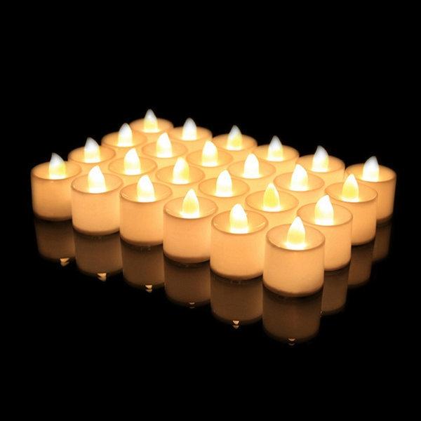 LED촛불 티라이트 캔들 옐로우 1p 전기초 전자양초 상품이미지
