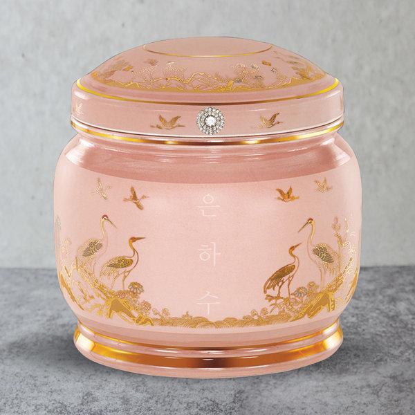 유골함모아/듀얼진공함/루미나 핑크봉분 G0218 상품이미지