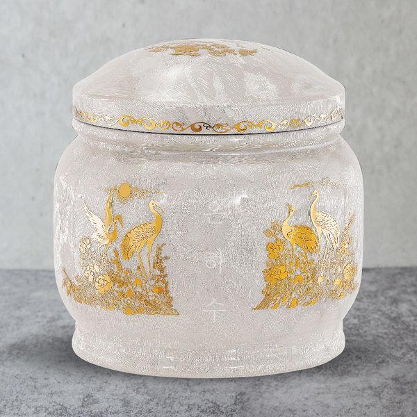 유골함모아/진공유골함/은사 금장식 송학 G1251 상품이미지