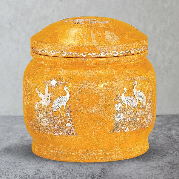 유골함모아/진공유골함/금사 은장식 송학 G1252 상품이미지