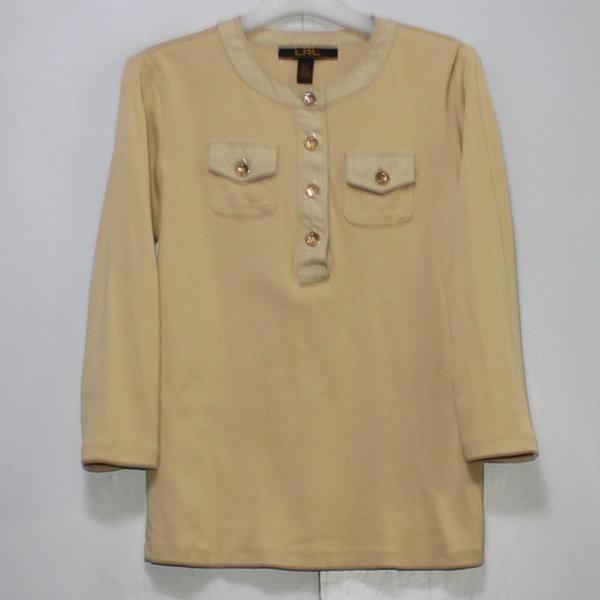 폴로 여성 7부소매 면 아노락 티셔츠/ 실측85 상품이미지