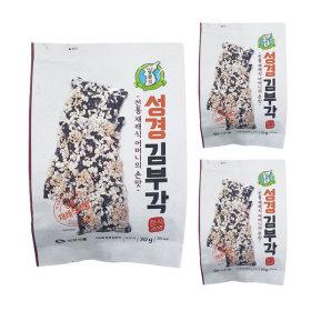 성경식품 지도표 김부각 70g 3봉