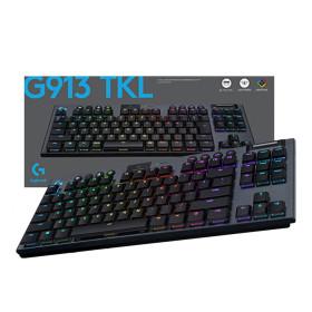 로지텍코리아 G913 TKL 텐키리스 무선 키보드 Clicky