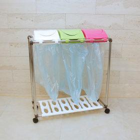 SM 스윙 재활용 분리수거함 3P / 쓰레기통 휴지통