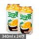 해태음료 코코팜 망고코넛 340ml 24캔