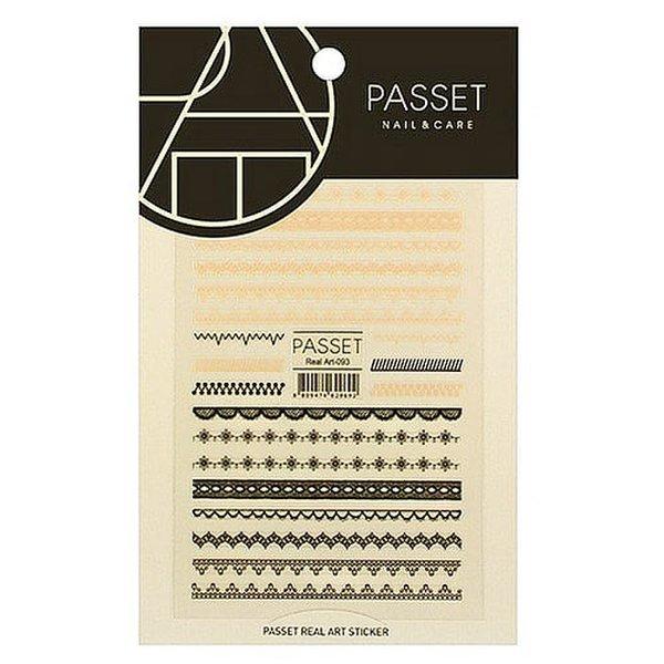 (네일나라) PASSET 파셋 리얼아트 스티커_ART93 (2113775) 상품이미지