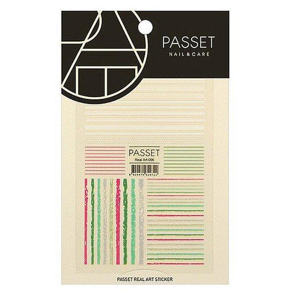 (네일나라) PASSET 파셋 리얼아트 스티커_ART96 (2113778) 상품이미지