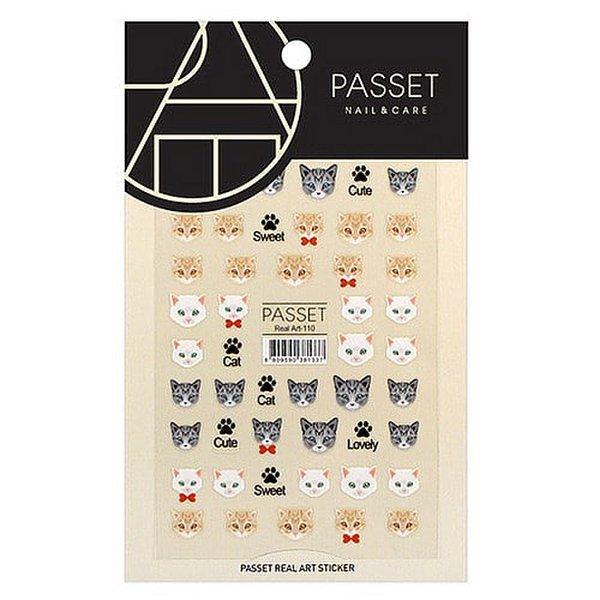 (네일나라) PASSET 파셋 리얼아트 스티커_ART110 (2111912) 상품이미지