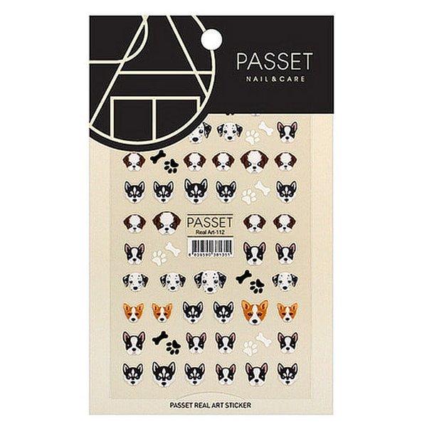 (네일나라) PASSET 파셋 리얼아트 스티커_ART112 (2111914) 상품이미지
