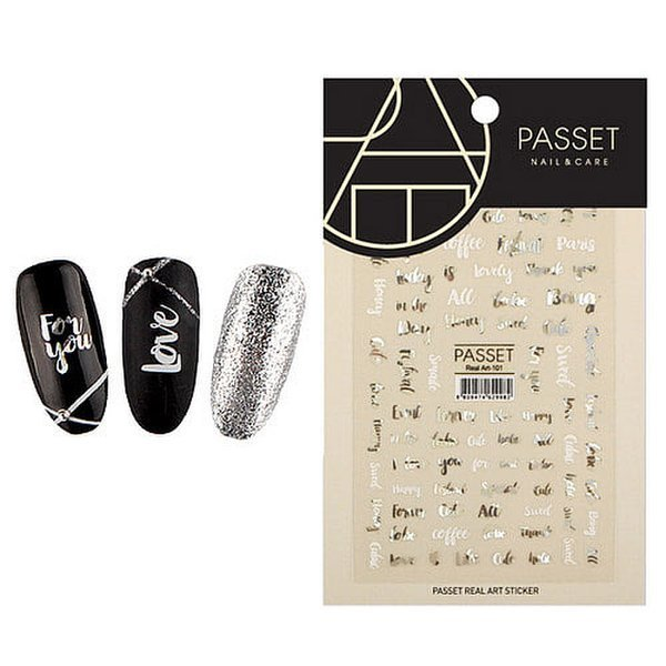 (네일나라) PASSET 파셋 리얼아트 스티커_ART101 (2112210) 상품이미지