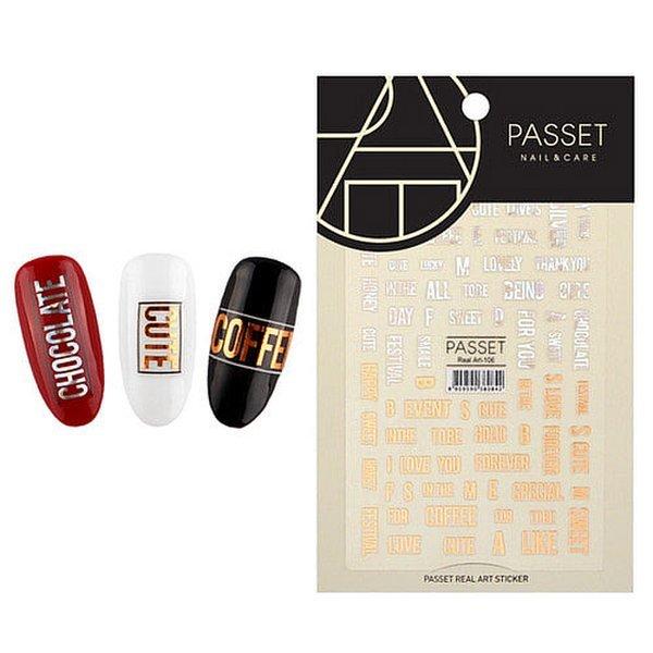 (네일나라) PASSET 파셋 리얼아트 스티커_ART106 (2112215) 상품이미지