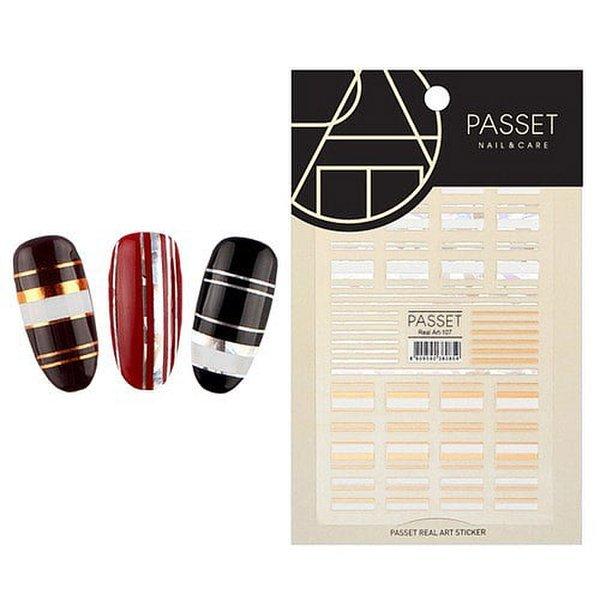 (네일나라) PASSET 파셋 리얼아트 스티커_ART107 (2112216) 상품이미지
