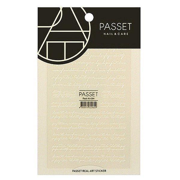 (네일나라) PASSET 파셋 리얼아트 스티커_ART84 (2113765) 상품이미지