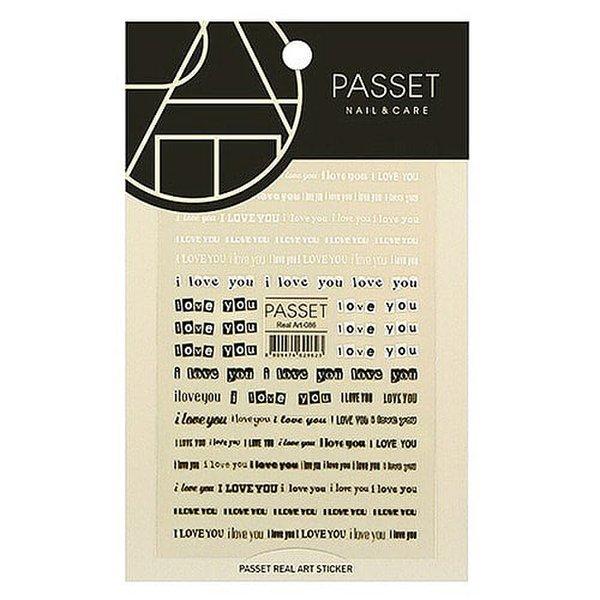 (네일나라) PASSET 파셋 리얼아트 스티커_ART86 (2113767) 상품이미지